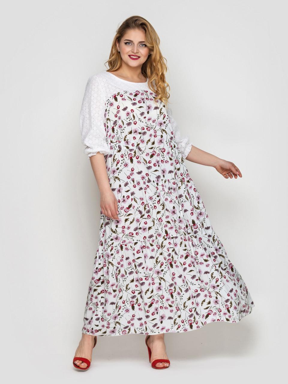 Нежное платье Росава флора