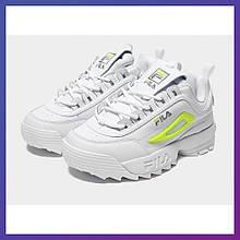 Кросівки жіночі Fila Disruptor Original білий колір. Філа Оригінал 39.5 розмір