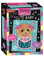 Набір для творчості. String ART. Cute baby (Ранок)