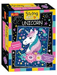 Набір для творчості. String ART. Unicorn (Ранок)