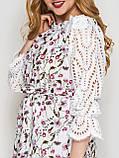 Летнее платье Матильда белое, фото 3