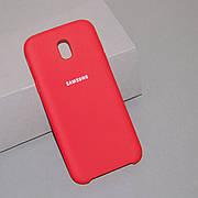 Силіконовий чохол Silicone Case на Samsung J5 J530 2017 Soft-touch Red