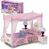 """Набор кукольной мебели для барби Gloria 2314 """"Спальня"""""""