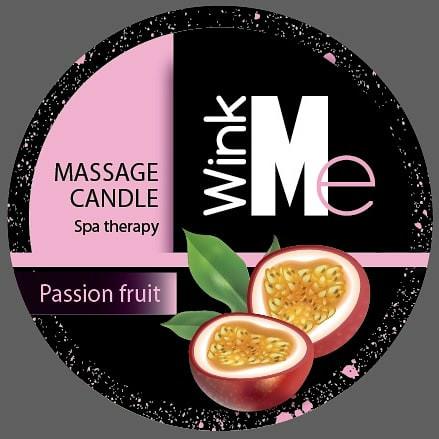 Wink me Massage Candle Passion Fruit (Маракуя) 30 мл