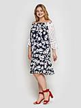 Летнее платье Матильда синее, фото 6