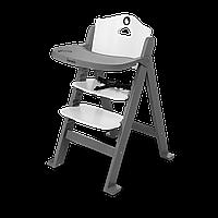Стульчик для кормления Lionelo FLORIS GREY STONE до 40 кг, 4-ступенчатая регулировка высоты