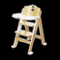 Стульчик для кормления Lionelo FLORIS NATURAL WHITE до 40 кг, 4-ступенчатая регулировка высоты