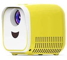 Детский мини проектор L1 Желтый