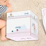 Постільна в ліжечко новонародженого. Пакунок малюка. Подарункова упаковка!, фото 8