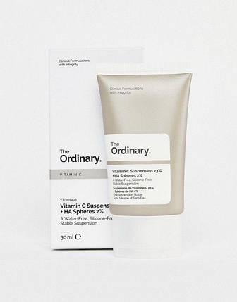 The Ordinary Vitamin C Suspension 23% + HA Spheres 2% Сироватка з вітаміном C та гіалуроновою кислотою (30мл), фото 2
