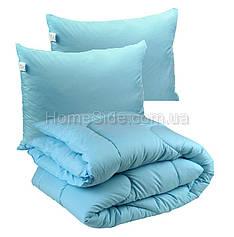 Одеяло зимнее 172х205 с подушками 50х70 двуспальное антиаллергенное 300г/м2