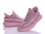 Женские летние розовые кроссовки в сеточку Изики (Замеры в описании), фото 2
