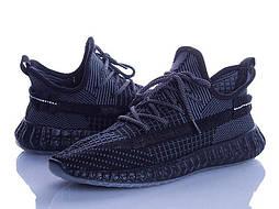 Мужские черные кроссовки изики мокасины в сеточку (Замеры в описании)