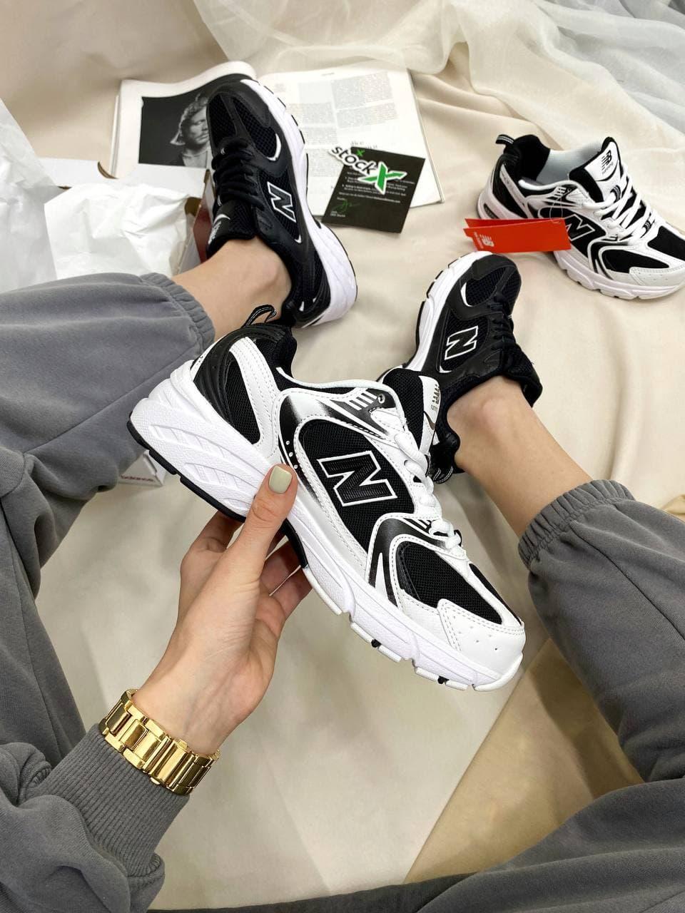 Женские кроссовки New Balance 530 Black/White