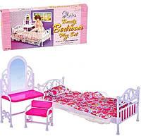 """Набор кукольной мебели для барби Gloria 9314 """"Спальня"""""""