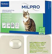 МИЛПРО Virbac Milpro таблетки від глистів для кішок вагою понад 2 кг, 1 таблетка
