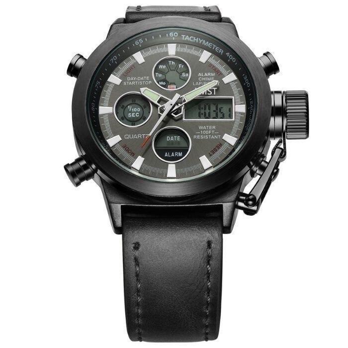 Часы Amst am3003 амстМужские военные наручные тактические современные Армейские противоударные сша годинник