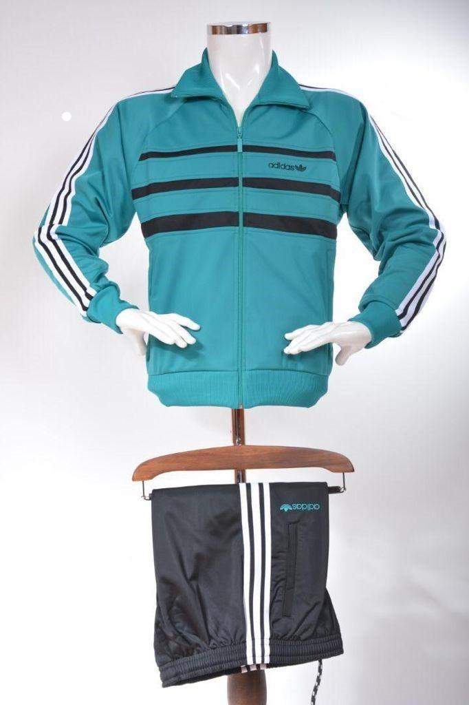 Мужской спортивный костюм Адидас Зебра Adidas эластик ретро