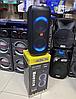 """Портативна бездротова акустична колонка з Bluetooth ZXX 5506 c мікрофоном 30Вт 6"""" USB/SD/FM/BT/MIC/ДУ, фото 3"""