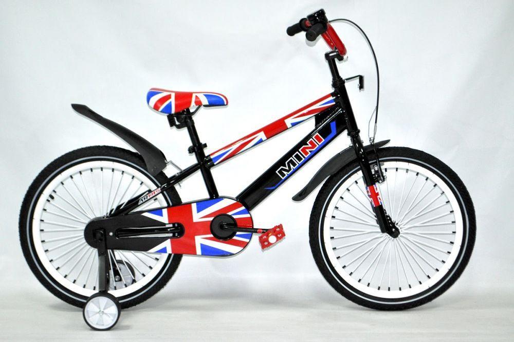 """Дитячий велосипед Ardis MINI R18"""" (Чорно-червоний)"""