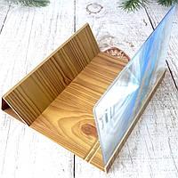 Универсальный 3D увеличитель экрана телефона Enlarged Screen Magnifier (Светлое дерево) Оригинальные фото