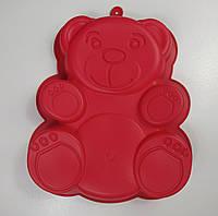 """Силиконовая форма для выпечки """"Мишка Барни"""", длина 30 см, ширина 22.5 см."""