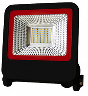 Прожектор Euroelectric LED SMD с радиатором NEW 30W 6500K (LED-FL-30(black)new)