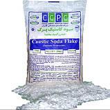 Сода каустическая (гидроксид натрия, натр едкий) чешуированная в мешках, 25 кг, фото 3