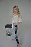 """Спортивні штани жіночі з лампасами ILLUSION(5кол.), р-ри 42-48 """"LEDI"""" недорого від прямого постачальника AP"""