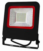Прожектор Euroelectric LED SMD с радиатором NEW 50W 6500K (LED-FL-50(black)new)