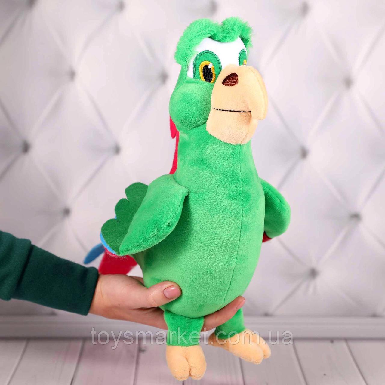 """Мягкая игрушка попугай Гоша, """"Буба"""", 28 см."""