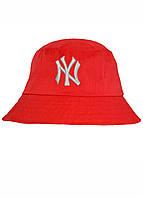 Панама капелюх для хлопців і дівчат NY червона