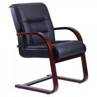 Кресло Роял CF кожа сплит чёрная