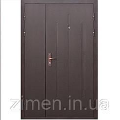 Входная дверь СтройГост 7-1 металл/металл (1200×2050)