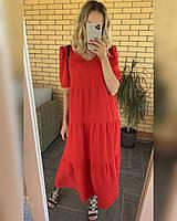 Женское летнее платье в норма и батал новинка 2021