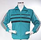Мужской спортивный костюм Адидас Зебра Adidas эластик ретро, фото 2