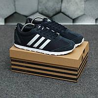 Кроссовки Adidas мужские, чёрные, демисезонные