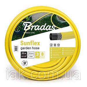 """Шланг для поливу  SUNFLEX   3/4"""" - 50м Bradas Польща жовтий WMS3/450"""