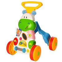 Детские музыкальные ходунки каталки опоры первые шаги для детей SL83570
