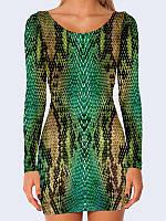 Платье Кожа змеи