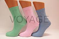Детские носки высокие с хлопка гладкие Стиль 7 яркие ассорти