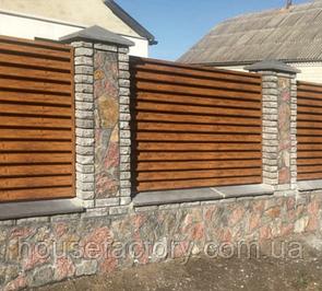Забор-жалюзи Classic