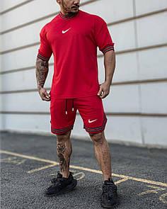 Чоловічий літній комплект Nike Red