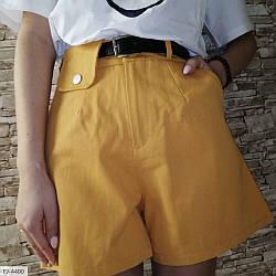 Женские шорты с поясом