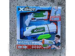 X-Shot Набор водных бластеров Fast Fill Medium And Small Zuru