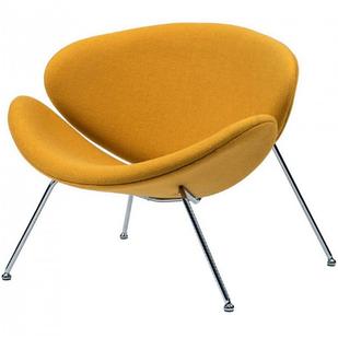 Кресло-лаунж Foster карри, ткань