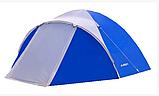 Походная двухслойная палатка 3-х местная для отдыха на природе Presto Acamper ACCO 3 PRO синий - 3000мм, фото 2