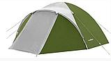 Походная двухслойная палатка 3-х местная для отдыха на природе Presto Acamper ACCO 3 PRO синий - 3000мм, фото 4