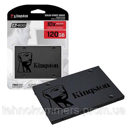 "Накопичувач SSD Kingston A400 120GB 2.5"" SATAIII 3D TLC, фото 2"
