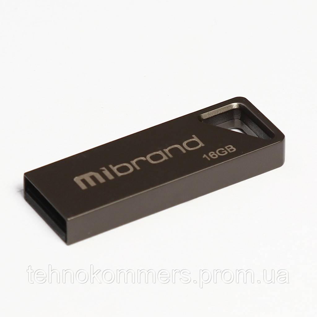 Флеш-накопичувач Mibrand USB2.0 Stingray 16GB Grey